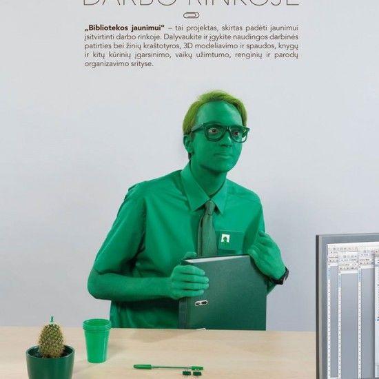Nebūk žalias